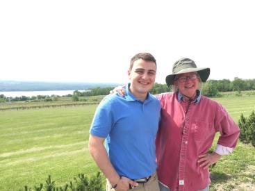 The owner of Standing Stone Vineyards, Marti Macinski