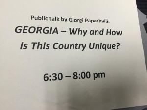 Public Talk